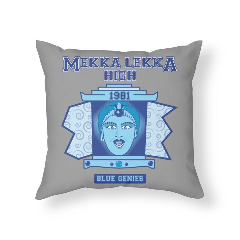 Mekka Lekka High Home Throw Pillow by Cowboy Goods Artist Shop