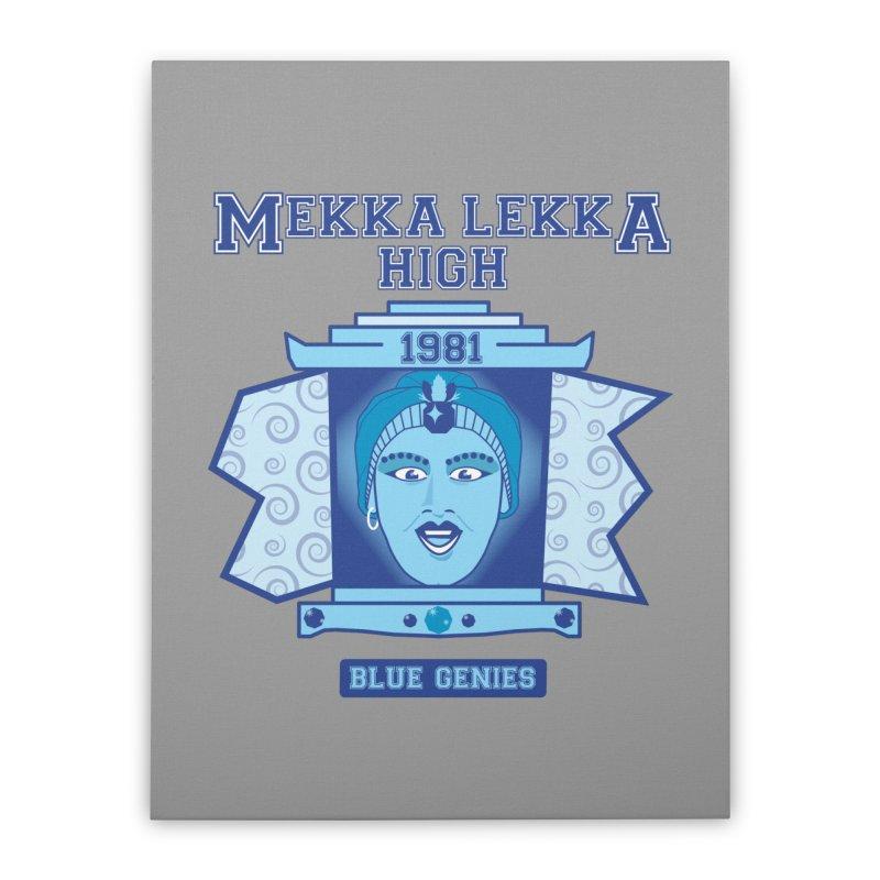 Mekka Lekka High Home Stretched Canvas by Cowboy Goods Artist Shop