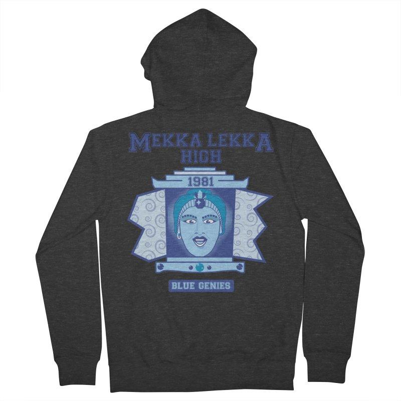 Mekka Lekka High Men's French Terry Zip-Up Hoody by Cowboy Goods Artist Shop