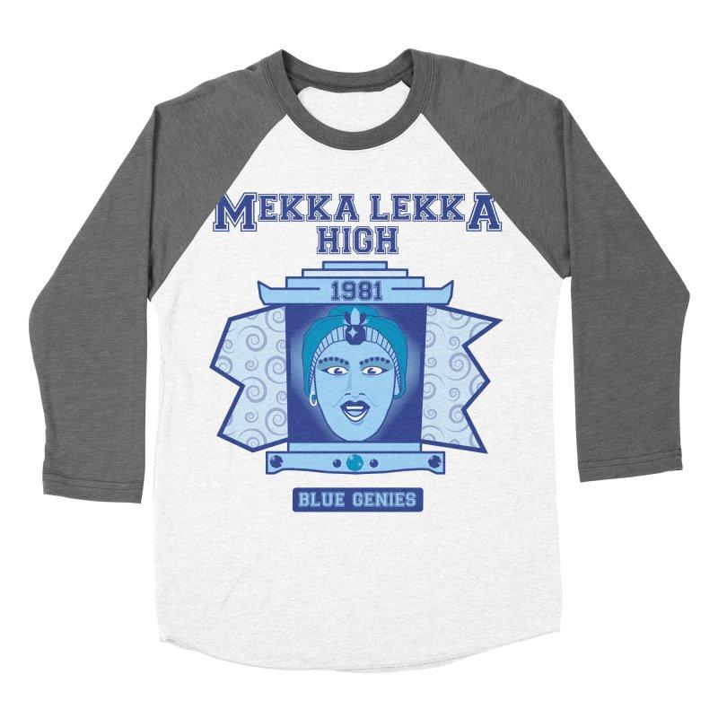 Mekka Lekka High Men's Baseball Triblend Longsleeve T-Shirt by Cowboy Goods Artist Shop