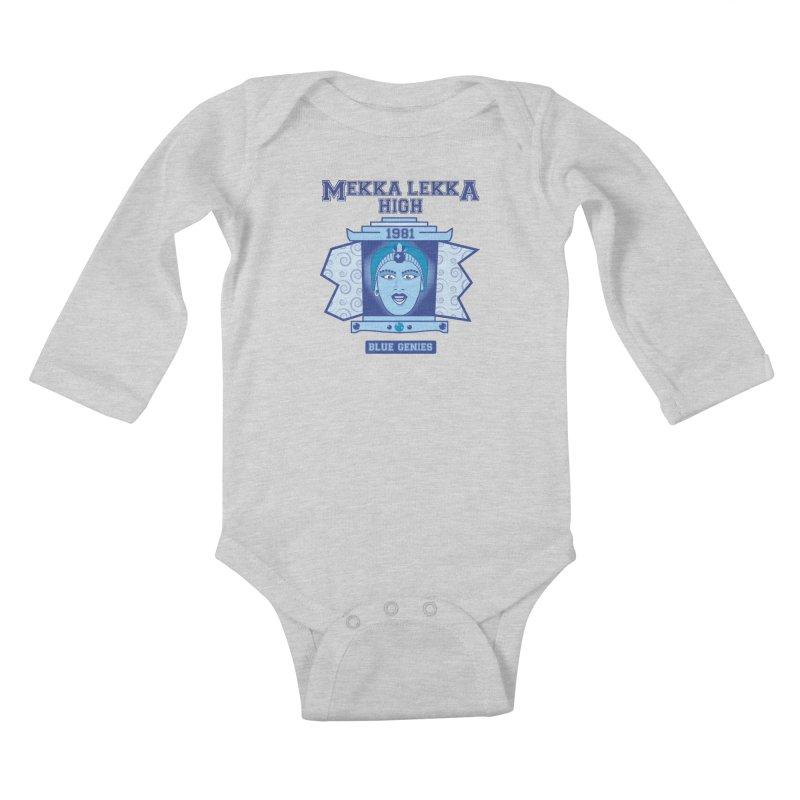 Mekka Lekka High Kids Baby Longsleeve Bodysuit by Cowboy Goods Artist Shop