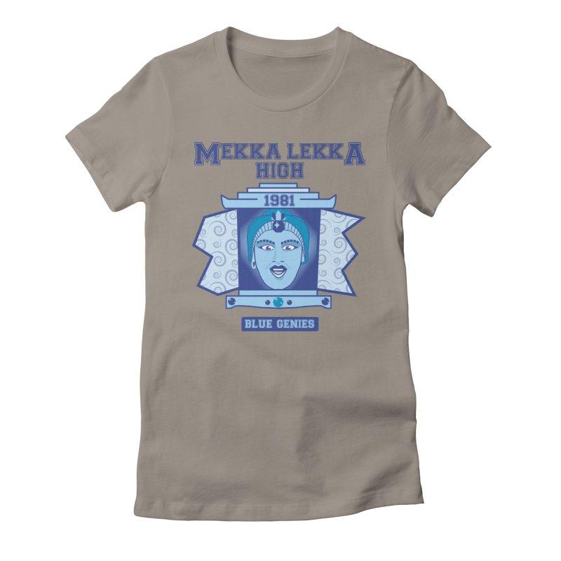 Mekka Lekka High Women's Fitted T-Shirt by Cowboy Goods Artist Shop
