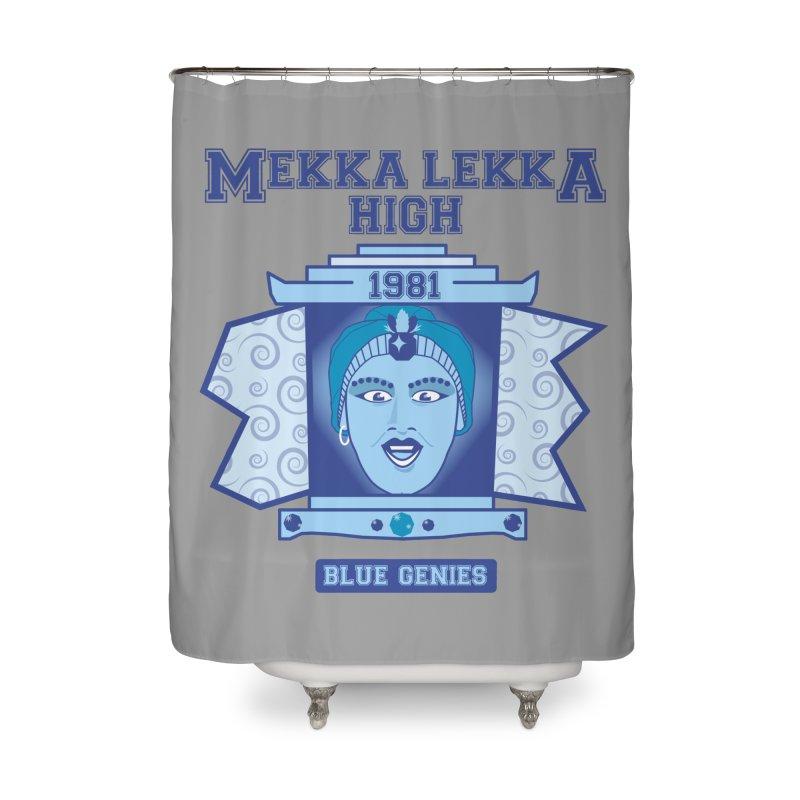 Mekka Lekka High Home Shower Curtain by Cowboy Goods Artist Shop