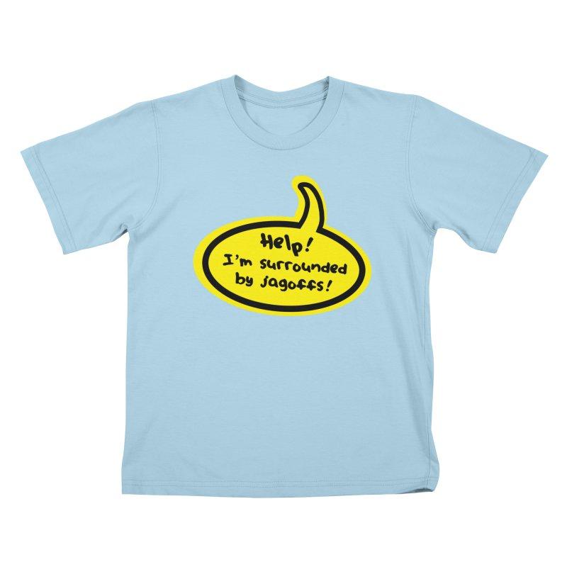 Jagoffs bubble Kids T-Shirt by Cowboy Goods Artist Shop