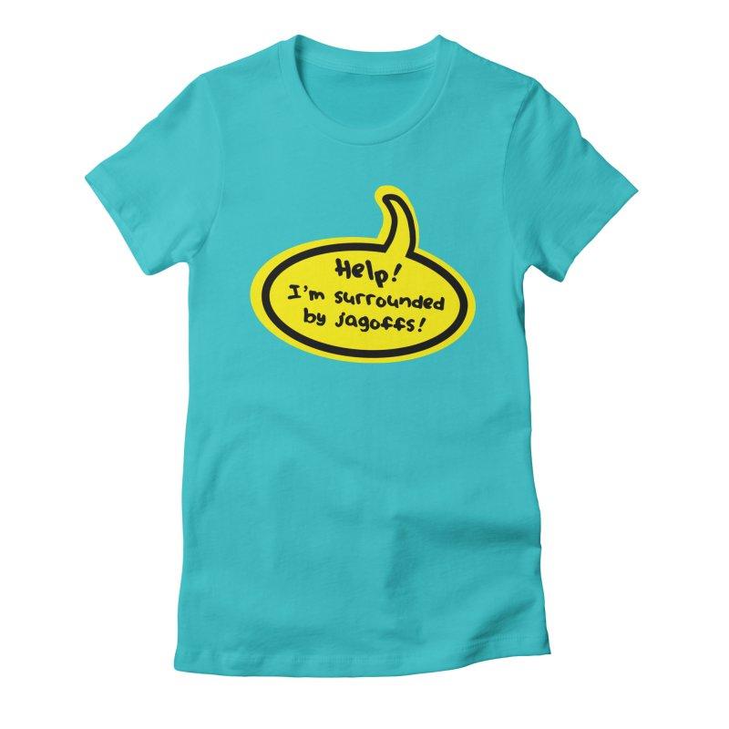 Jagoffs bubble Women's T-Shirt by Cowboy Goods Artist Shop