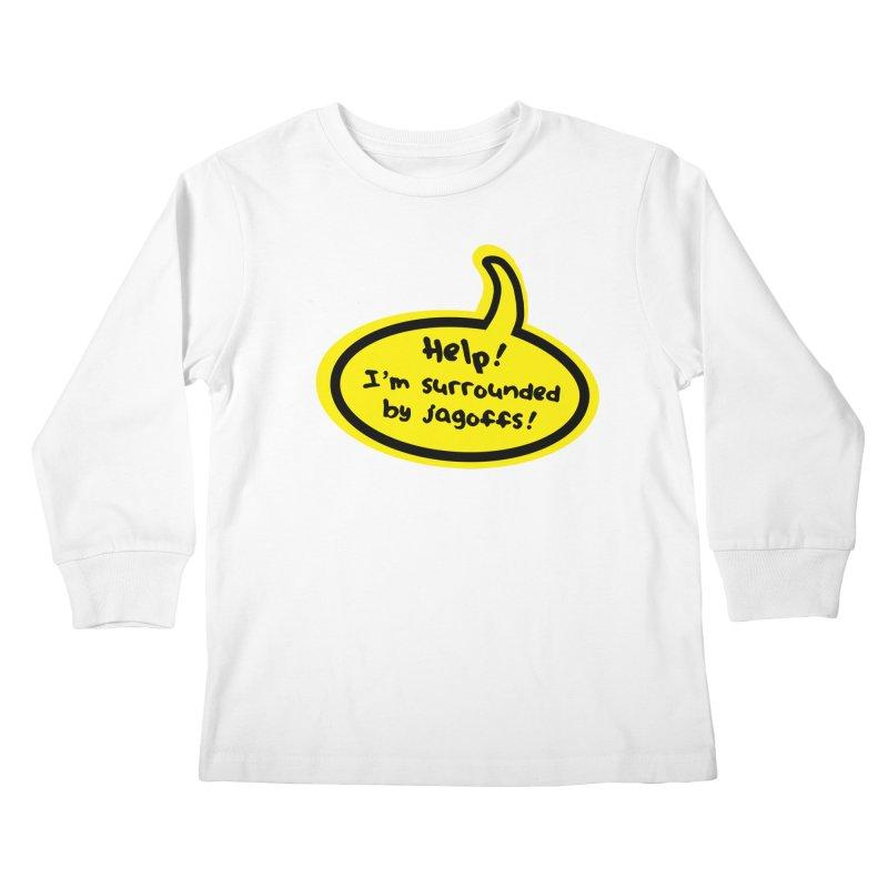 Jagoffs bubble Kids Longsleeve T-Shirt by Cowboy Goods Artist Shop
