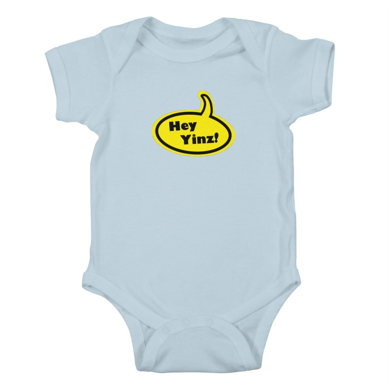 Hey Yinz Bubble Kids Baby Bodysuit by Cowboy Goods Artist Shop