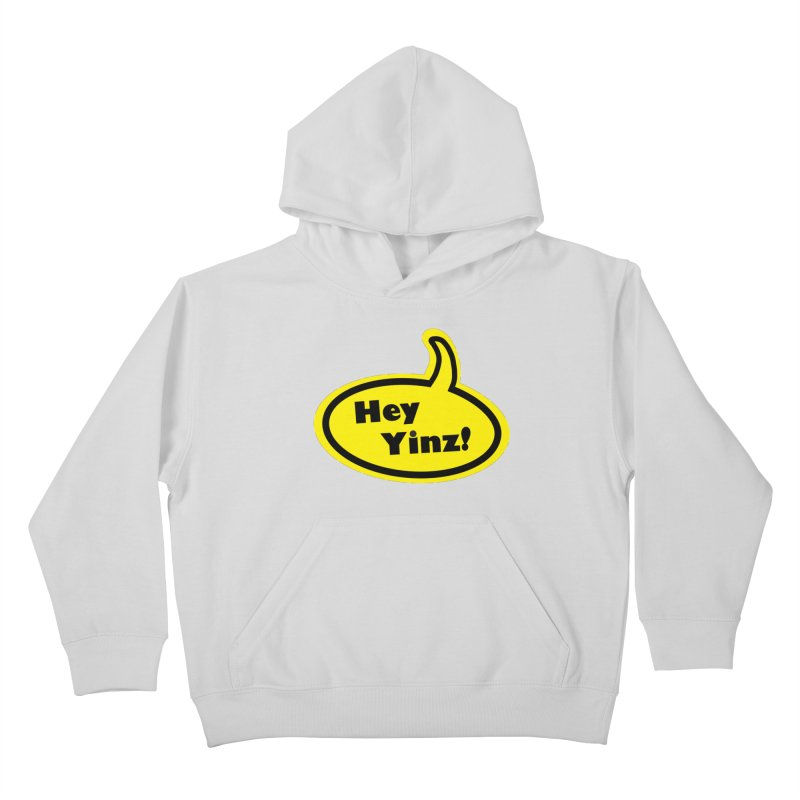 Hey Yinz Bubble Kids Pullover Hoody by Cowboy Goods Artist Shop
