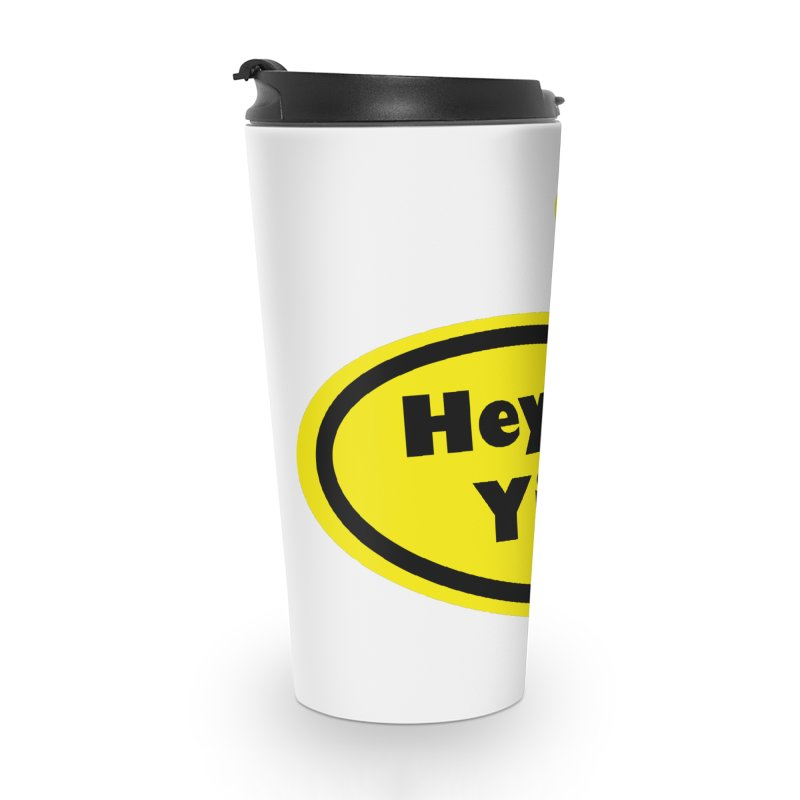 Hey Yinz Bubble Accessories Travel Mug by Cowboy Goods Artist Shop