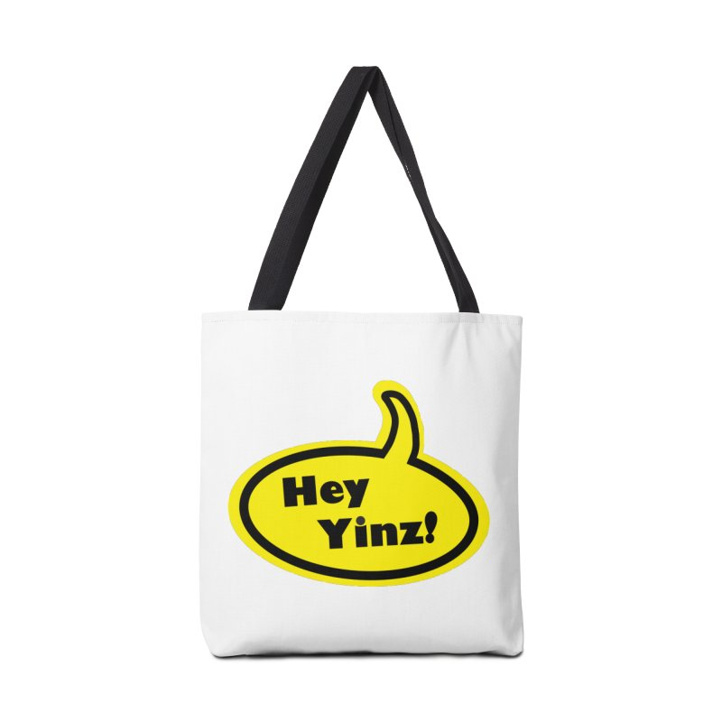Hey Yinz Bubble Accessories Tote Bag Bag by Cowboy Goods Artist Shop