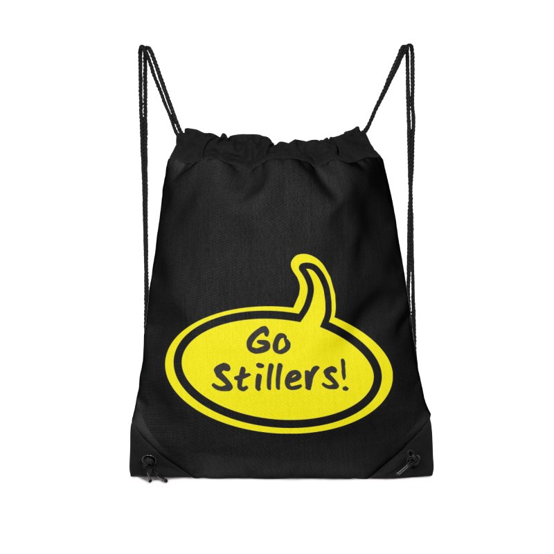 Go Stillers Bubble Accessories Bag by Cowboy Goods Artist Shop