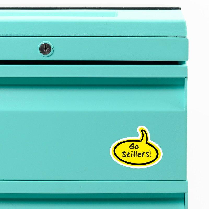 Go Stillers Bubble Accessories Magnet by Cowboy Goods Artist Shop