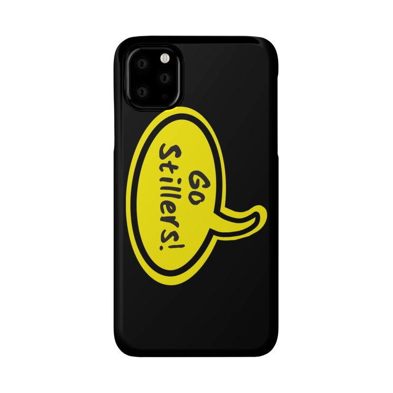 Go Stillers Bubble Accessories Phone Case by Cowboy Goods Artist Shop