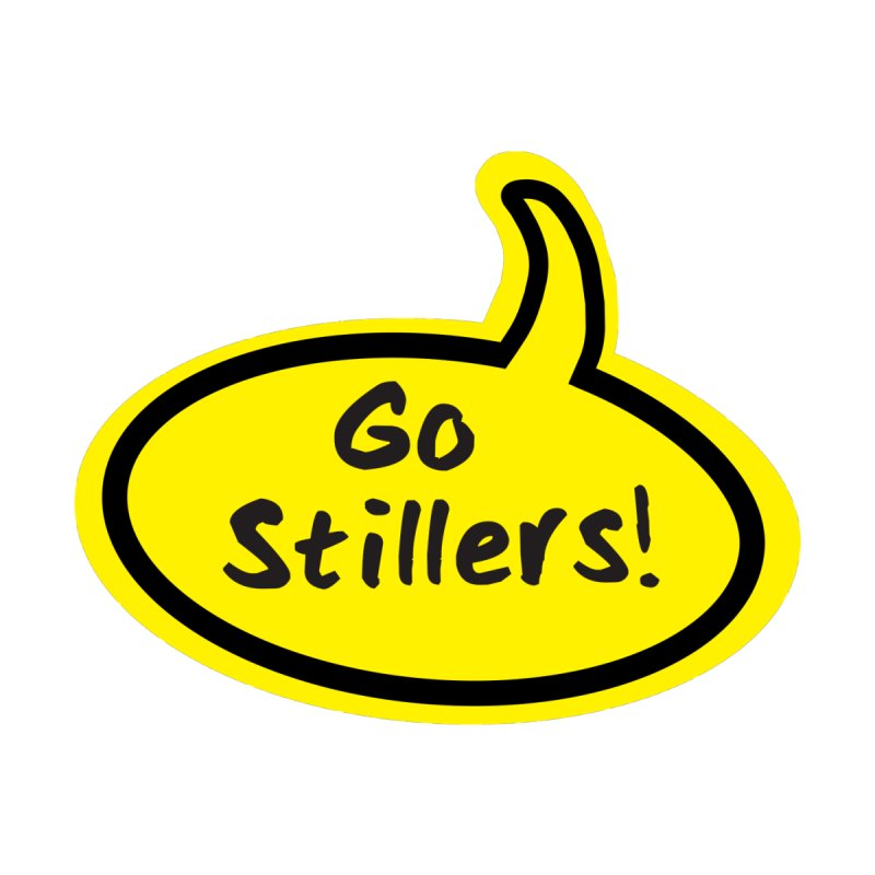 Go Stillers Bubble Accessories Notebook by Cowboy Goods Artist Shop
