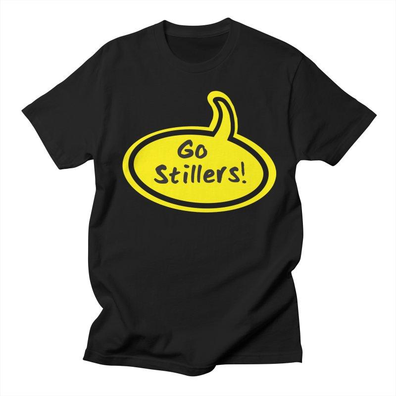 Go Stillers Bubble Men's T-Shirt by Cowboy Goods Artist Shop