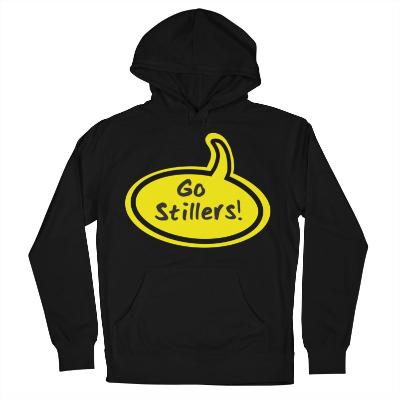 Go Stillers Bubble Men's French Terry Pullover Hoody by Cowboy Goods Artist Shop