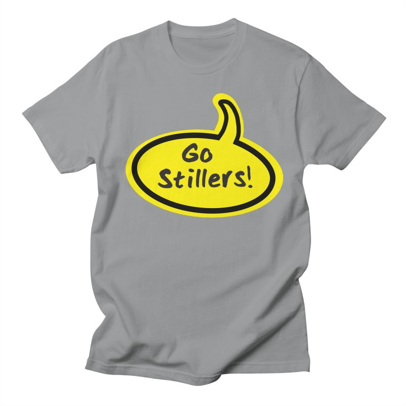 Go Stillers Bubble Men's T-Shirt by Cowboy Goods Artist Shop