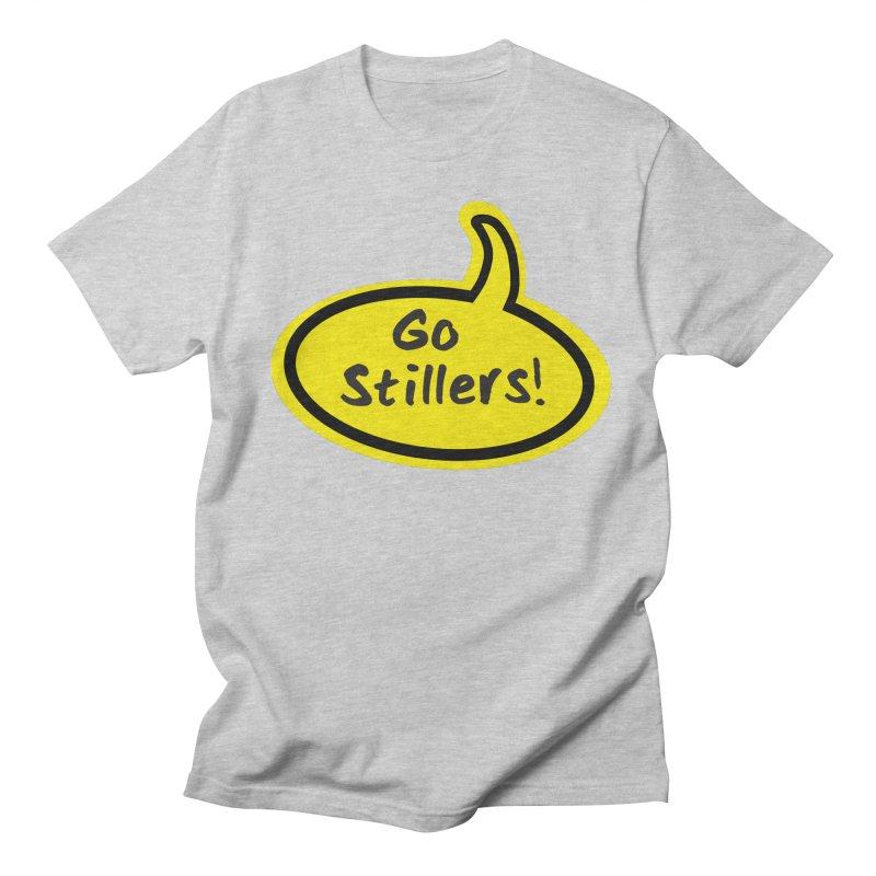 Go Stillers Bubble Men's Regular T-Shirt by Cowboy Goods Artist Shop