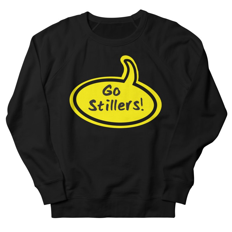 Go Stillers Bubble Men's Sweatshirt by Cowboy Goods Artist Shop