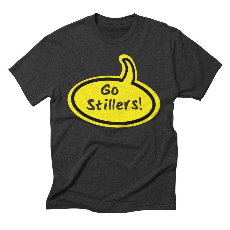 Go Stillers Bubble Men's Triblend T-Shirt by Cowboy Goods Artist Shop