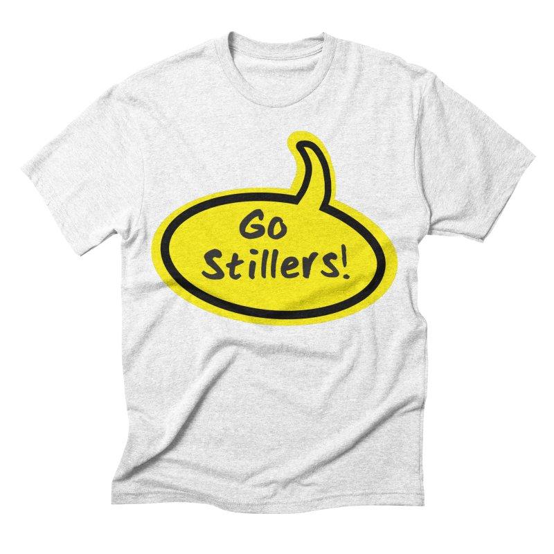 Go Stillers Bubble Men's Triblend T-shirt by Cowboy Goods Artist Shop