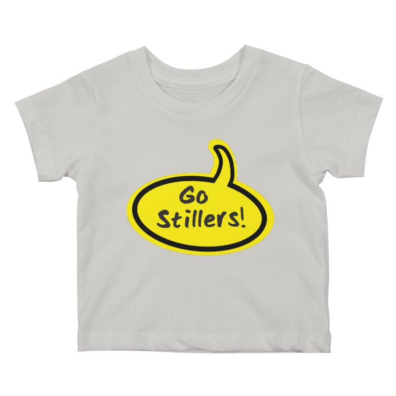 Go Stillers Bubble Kids Baby T-Shirt by Cowboy Goods Artist Shop