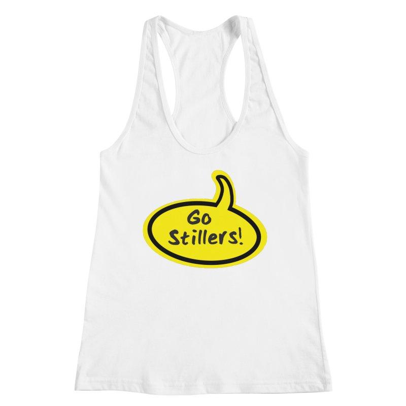 Go Stillers Bubble Women's Tank by Cowboy Goods Artist Shop