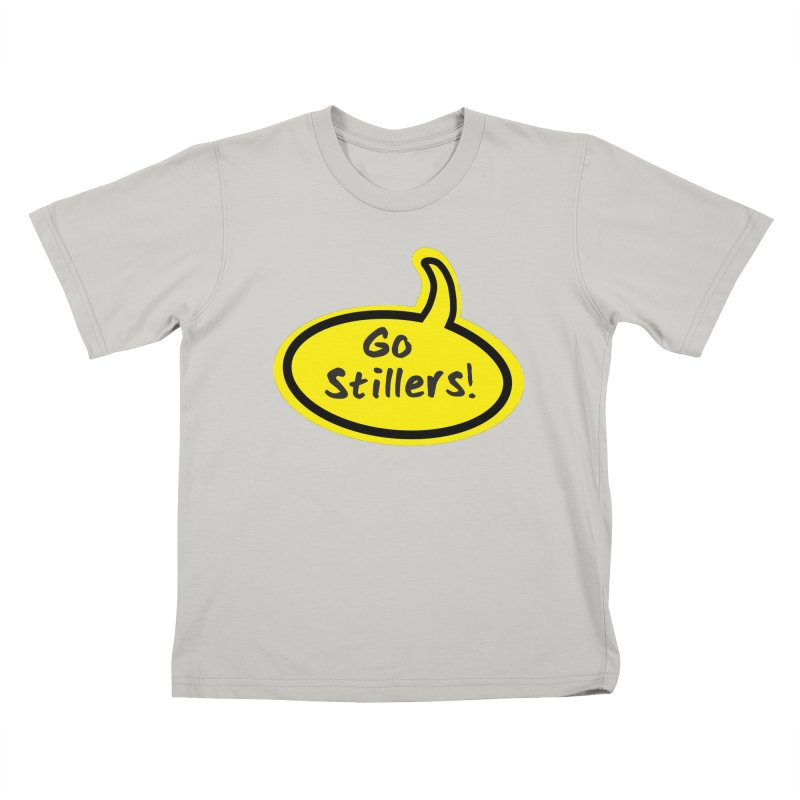 Go Stillers Bubble Kids T-shirt by Cowboy Goods Artist Shop