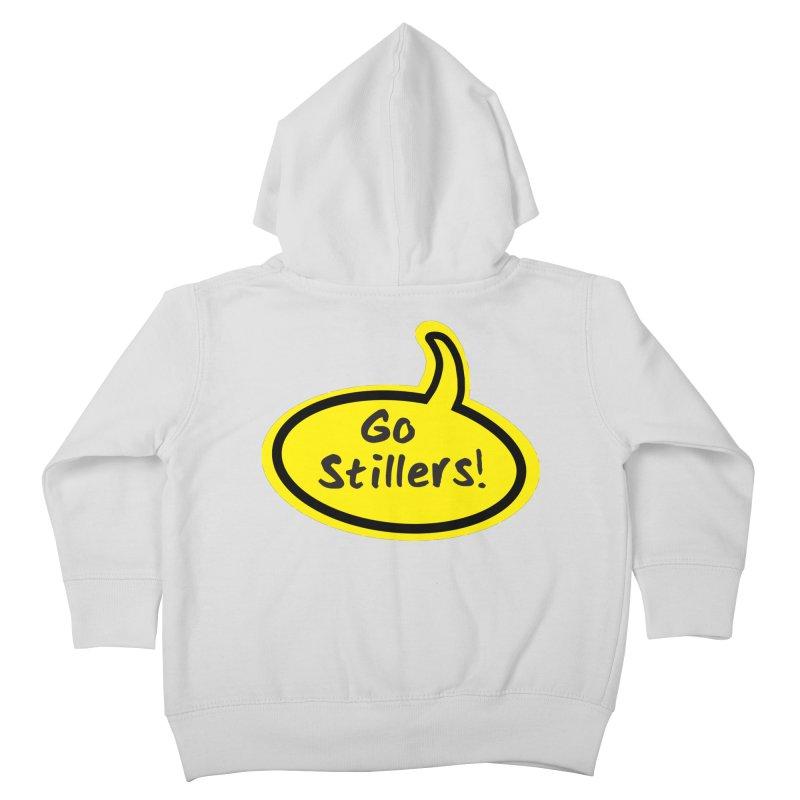 Go Stillers Bubble Kids Toddler Zip-Up Hoody by Cowboy Goods Artist Shop