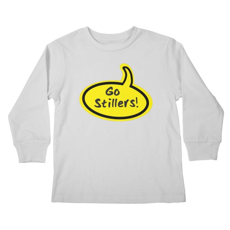 Go Stillers Bubble Kids Longsleeve T-Shirt by Cowboy Goods Artist Shop