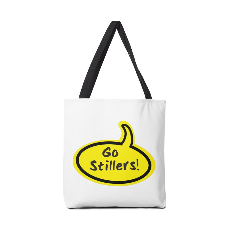 Go Stillers Bubble Accessories Tote Bag Bag by Cowboy Goods Artist Shop