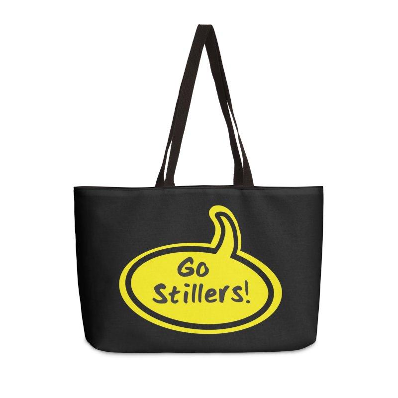Go Stillers Bubble Accessories Bag by Cowboy Goods Artist Shop