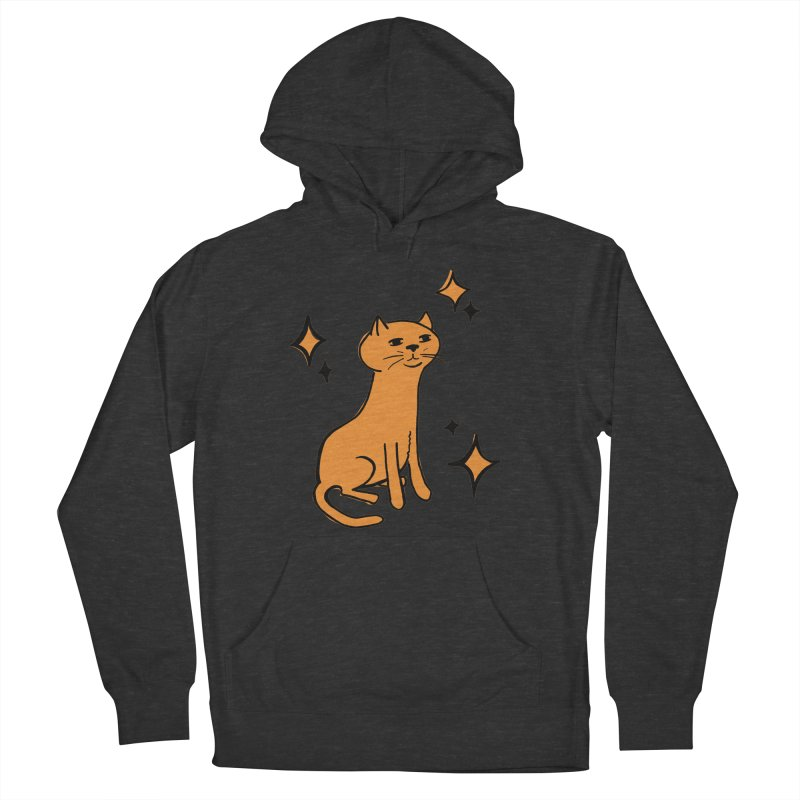 Just a Cat Men's Pullover Hoody by Cowboy Goods Artist Shop