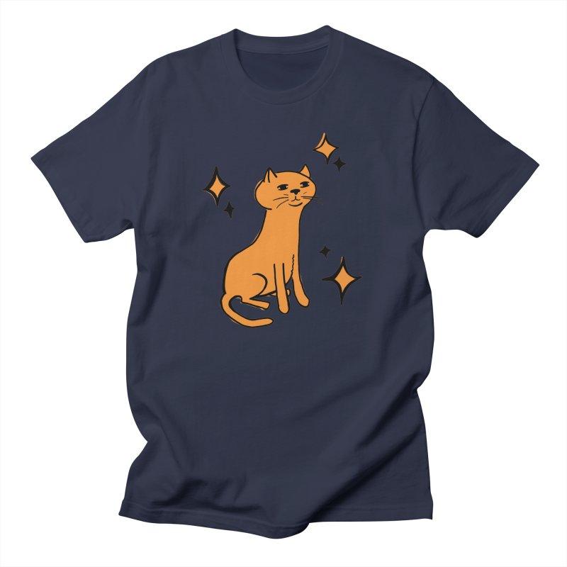 Just a Cat Men's T-Shirt by Cowboy Goods Artist Shop