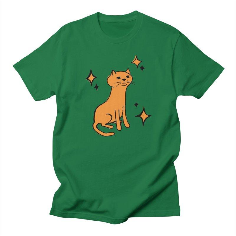 Just a Cat Men's Regular T-Shirt by Cowboy Goods Artist Shop