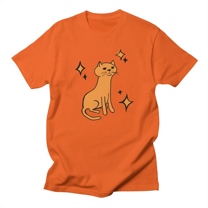 Just a Cat Men's Regular T-Shirt by Cowboy Goods Artist Shop