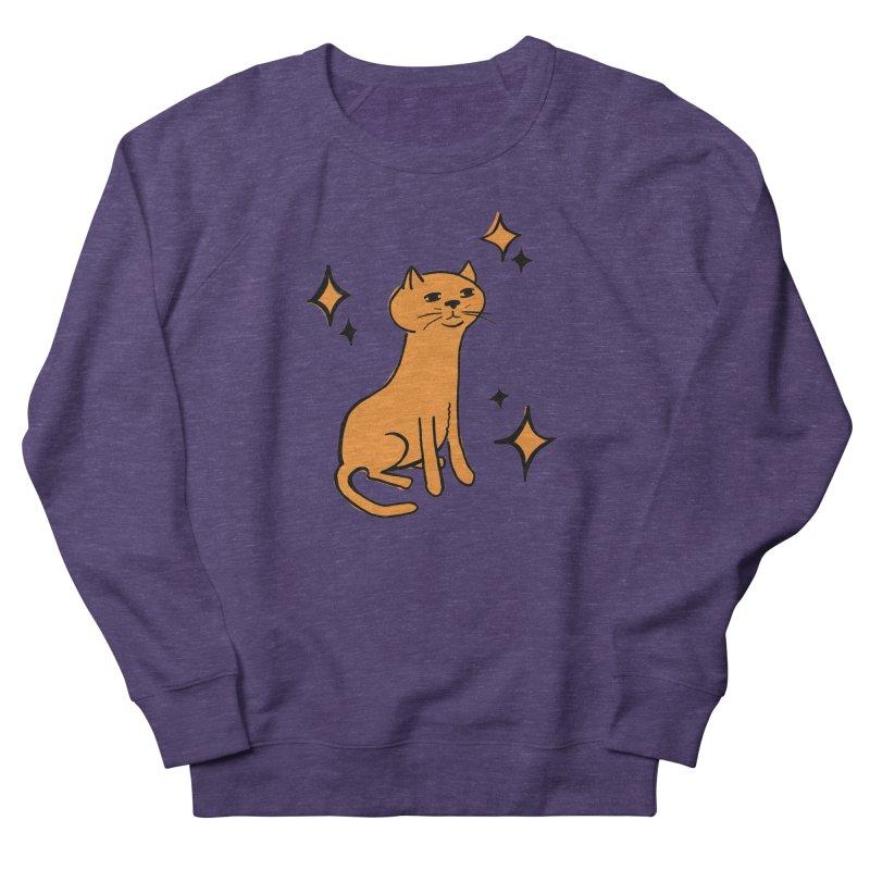 Just a Cat Women's Sweatshirt by Cowboy Goods Artist Shop