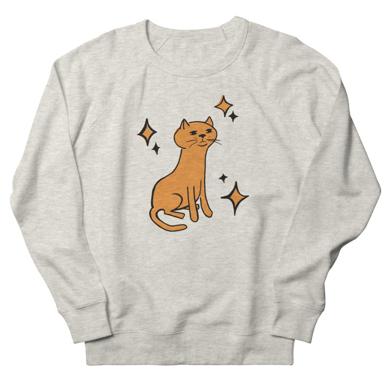 Just a Cat Men's Sweatshirt by Cowboy Goods Artist Shop