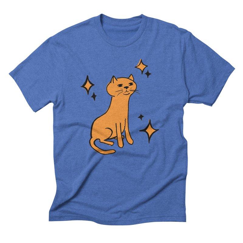 Just a Cat Men's Triblend T-shirt by Cowboy Goods Artist Shop
