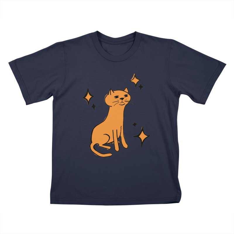 Just a Cat Kids T-Shirt by Cowboy Goods Artist Shop