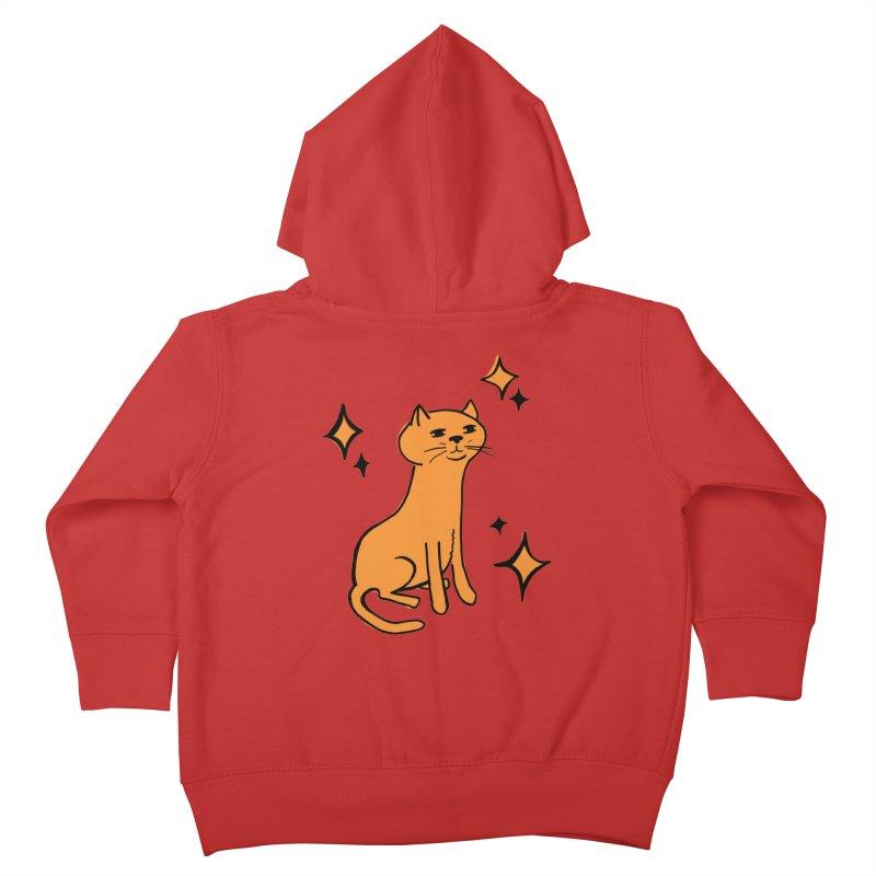 Just a Cat Kids Toddler Zip-Up Hoody by Cowboy Goods Artist Shop