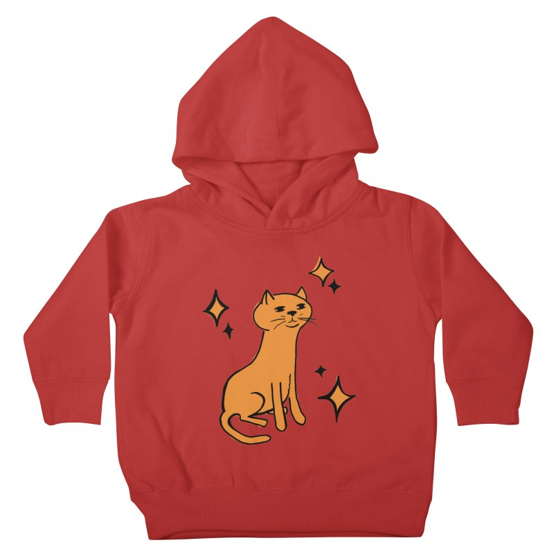 Just a Cat Kids Toddler Pullover Hoody by Cowboy Goods Artist Shop