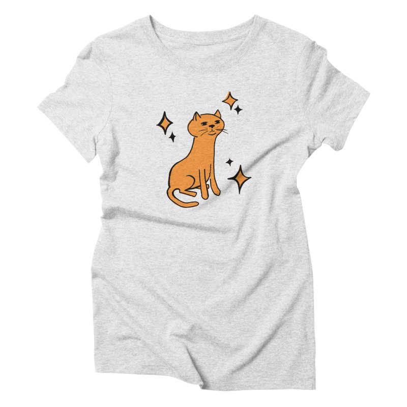 Just a Cat Women's T-Shirt by Cowboy Goods Artist Shop