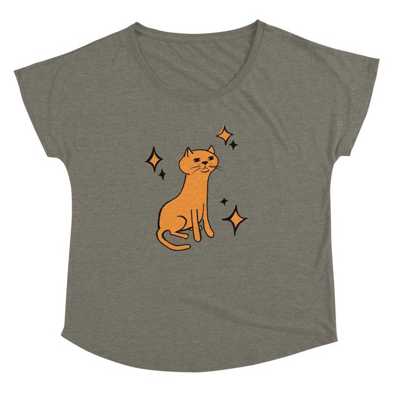 Just a Cat Women's Dolman by Cowboy Goods Artist Shop