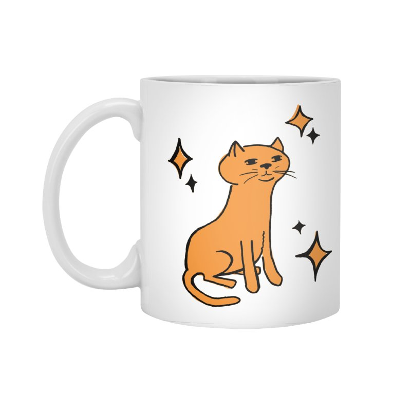 Just a Cat Accessories Standard Mug by Cowboy Goods Artist Shop