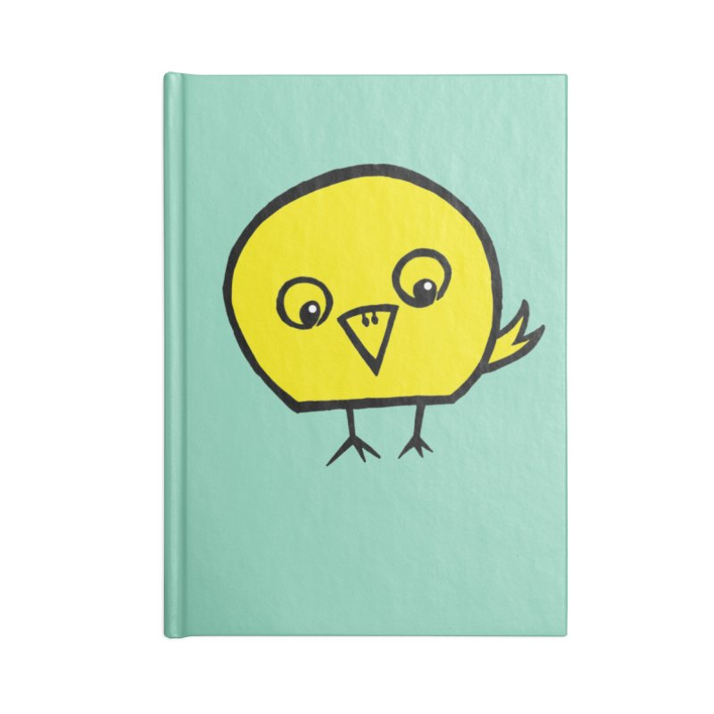 Little Chick Accessories Notebook by Cowboy Goods Artist Shop