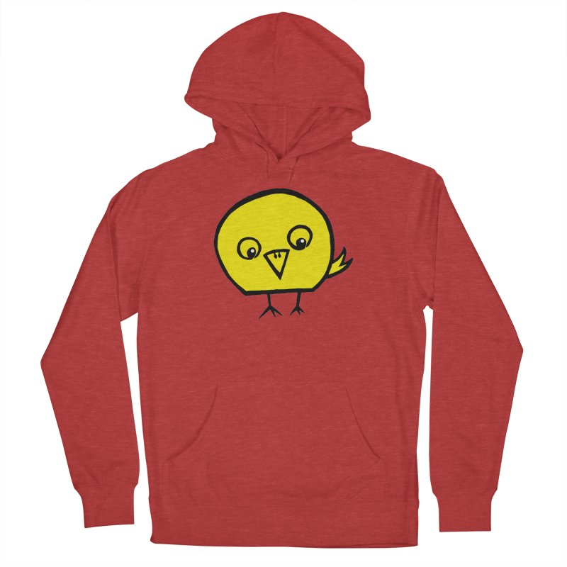 Little Chick Men's French Terry Pullover Hoody by Cowboy Goods Artist Shop
