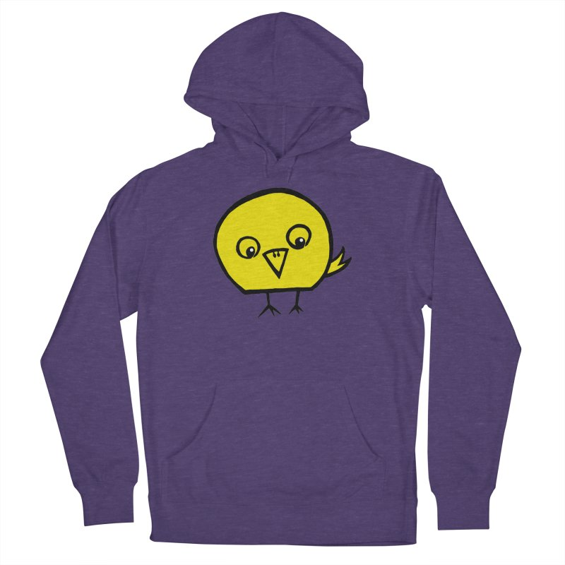 Little Chick Women's French Terry Pullover Hoody by Cowboy Goods Artist Shop