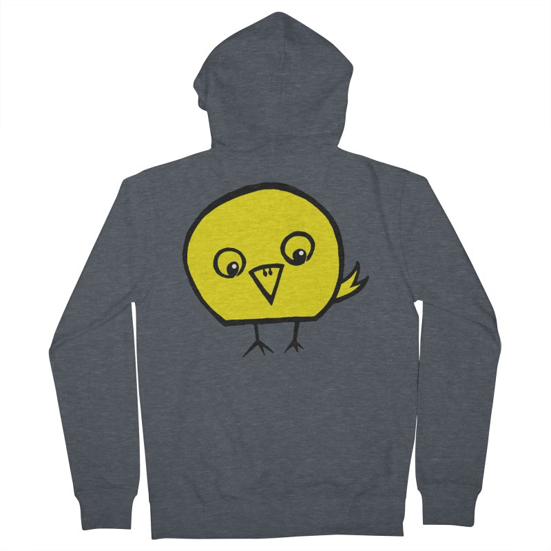 Little Chick Women's Zip-Up Hoody by Cowboy Goods Artist Shop