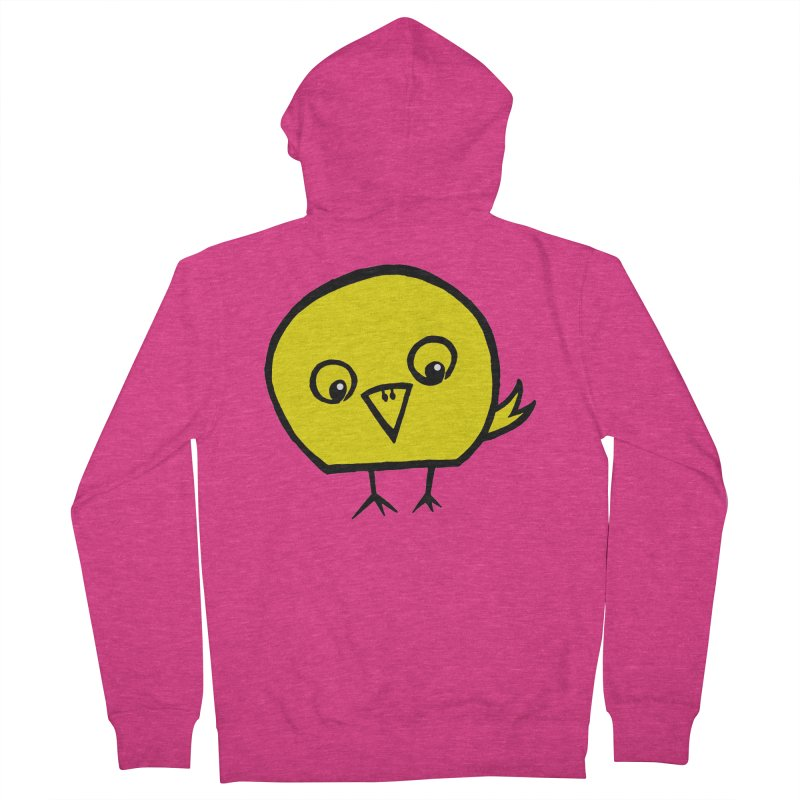 Little Chick Women's French Terry Zip-Up Hoody by Cowboy Goods Artist Shop